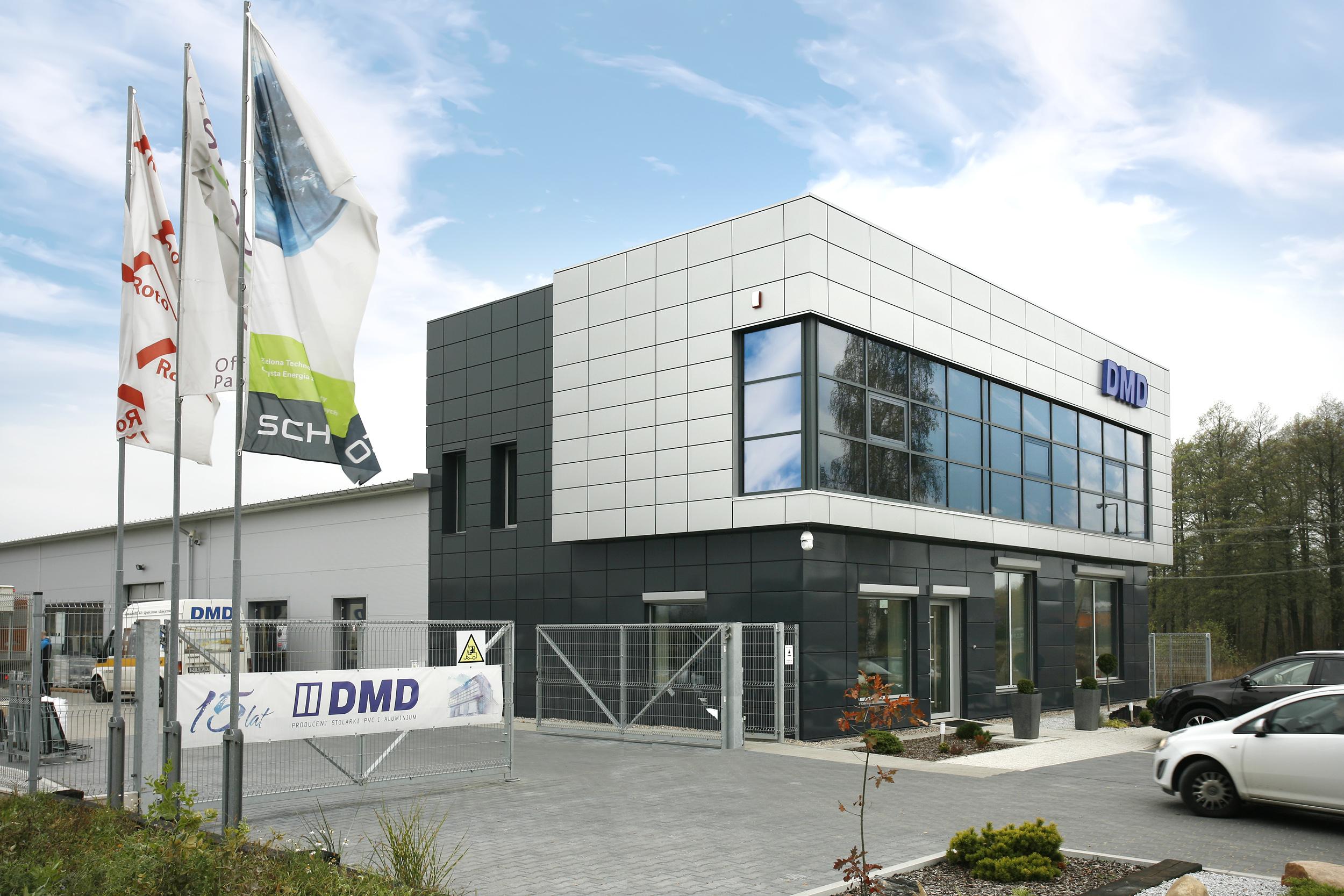 producent okien pvc białystok, Siedziba firmy DMD