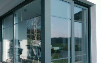 dom prywatny DMD okna i drzwi